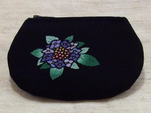 藍染コースター 紫陽花(アジサイ)